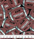 Super Fleece Fabric -Packed Footballs