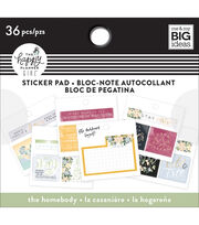 The Happy Planner Girl Tiny Sticker Pad-Homebody, , hi-res