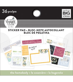 The Happy Planner Girl Tiny Sticker Pad-Homebody