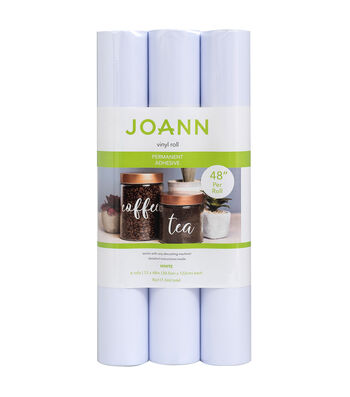 Joann Vinyl Bundle-White