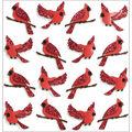 Jolee\u0027s Mini Repeats Stickers-Cardinal