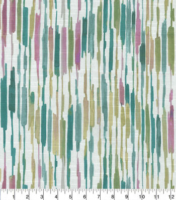 Kelly Ripa Home Upholstery Fabric-Drizzle Heather