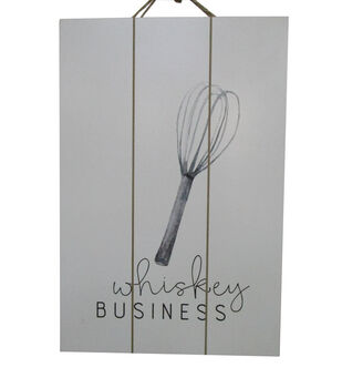 Simply Autumn Wall Decor-Whiskey Business
