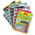 Animal Fun Sparkle Stickers Variety Pack 432 Per Pack, 3 Packs