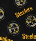 Pittsburgh Steelers Fleece Fabric 58\u0022-Camo Circle