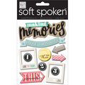 Me & My Big Ideas Soft Spoken Themed Embellishments-Love This Life