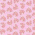 Valentine\u0027s Day Cotton Fabric-Hearts