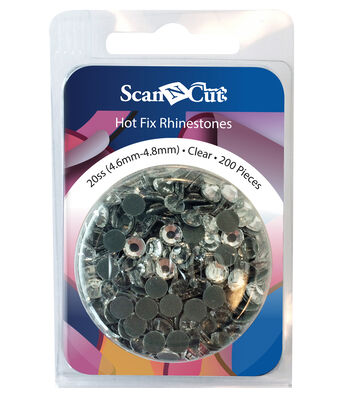 Brother ScanNCut 200pc 20SS Rhinestone Refill Pack-Clear