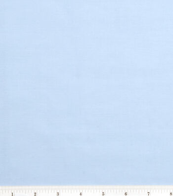 2 Yard Pre-Cut Symphony Broadcloth Fabric Remnant-Sky Blue