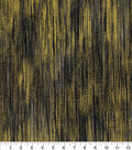 Asian Inspired Cotton Fabric -Gradient Lines Black Metallic