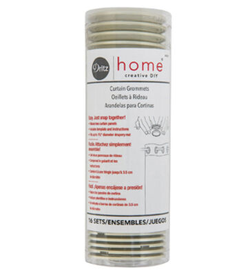 Dritz Home Curtain Grommets-Champagne