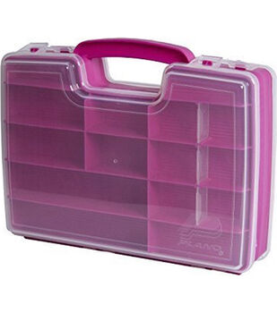 Creative Options Double-Sided Craft 'N Go Organizer-Magenta & Clear