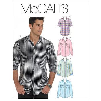 McCall's Mens Top-M6044
