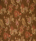 Jaclyn Smith Upholstery Fabric 56\u0022-Percy /Coffee