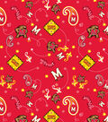 University of Maryland Terrapins Cotton Fabric -Bandana