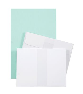 Park Lane A2 Cards & Envelopes- Blue