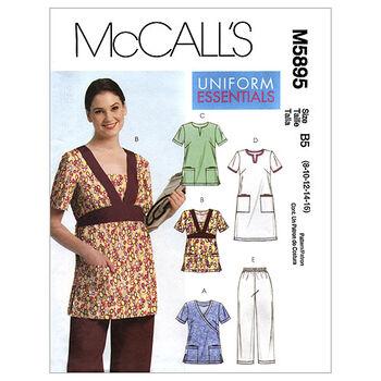 McCall's Women's Uniforms-M5895