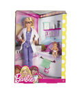 Barbie Baby Doctor Doll & Playset