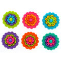 Jesse James Dress It Up Floral Button Embellishments-Revolution