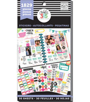The Happy Planner Planner Basics Sticker Sheets, , hi-res