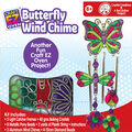 Craft EZ Oven Crystal Creations Kit-Butterfly Wind Chime