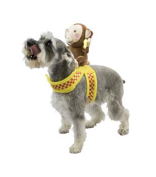 Maker's Halloween Pet Accessory-Back Monkey Small/Medium