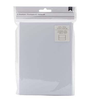 American Crafts A7 Envelopes 5.25''x7.25''