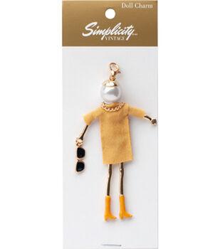 Simplicity Vintage Doll Charm-Diana