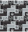 Los Angeles Kings Cotton Fabric -Block
