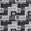Los Angeles Kings Cotton Fabric -Block