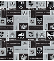 Los Angeles Kings Cotton Fabric 43''-Block, , hi-res