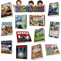 Edupress Literary Genres Bulletin Board Display Set, 2 Sets