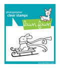 Lawn Fawn Clear Stamps 3\u0022X2\u0022-Winter Bunny