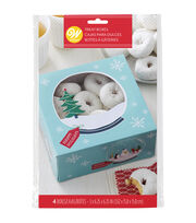 Wilton 4ct Medium Cookie Box-Snowman Friends, , hi-res