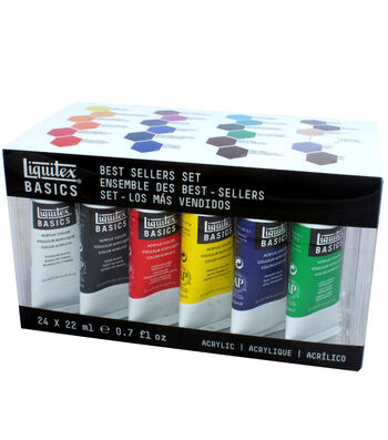 Liquitex BASICS Acrylics-Best Seller Set
