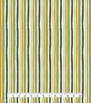Harvest Cotton Fabric-Harvest Multi Stripe