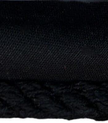 Conso 1/4in Black Cord W/ Lip