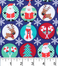 Holiday Cotton Fabric -Christmad Pals