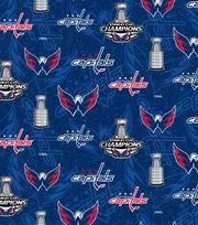 "Washington Capitals Cotton Fabric 42""-Championship, , hi-res"