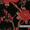 Yaya Han Collection Velvet Floral Brocade-Red
