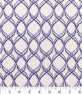 Snuggle Flannel Fabric -Purple Interlock
