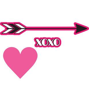 Sizzix Framelits Courtney Chilson Die & Stamp Set-Shooting Arrow