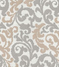 Kelly Ripa Multi-Purpose Decor Fabric 58\u0022-Graceful Curves Linen