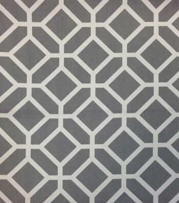 "Outdoor Fabric 54""-Stained Glass Grey"