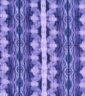 Kathy Davis Cotton Gauze Fabric -Purple Forest Tie Dye