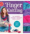 Finger Knitting Book Kit