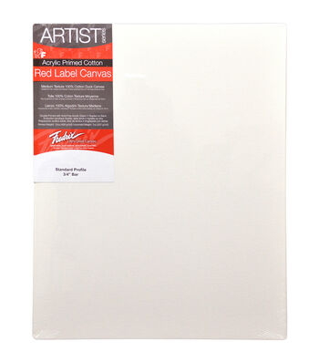 Fredrix Artist Series Red Label Stretched Canvas 14''x18''