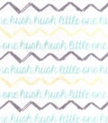 Snuggle Flannel Fabric -Hush Little One