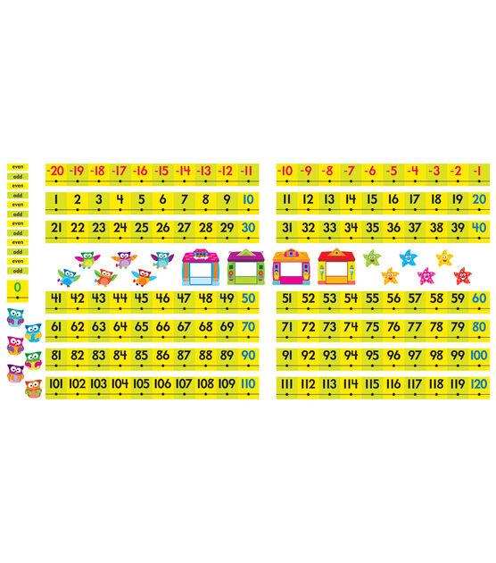 Owl Stars! Number Line  20 to 120 Bulletin Board Set, , hi-res, image 3