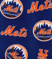 New York Mets Fleece Fabric -Logo, , hi-res